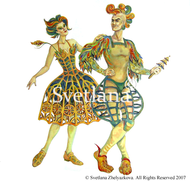 Papageno and Papagena Costumes